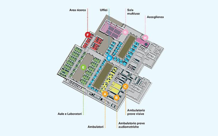 Centro Nazionale - piantina edificio-1-piano-terra