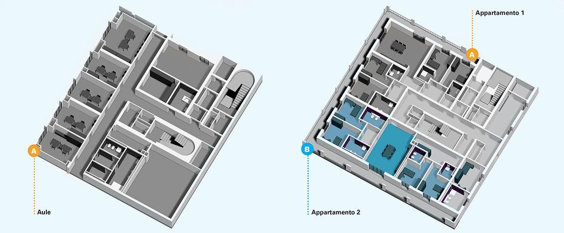 Centro Nazionale edificio-4-piano-terra-piano-primo2