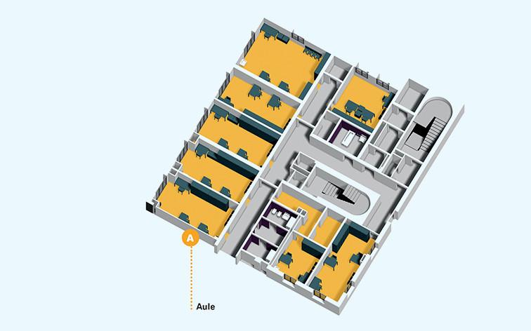 Centro Nazionale edificio-3-piano-terra