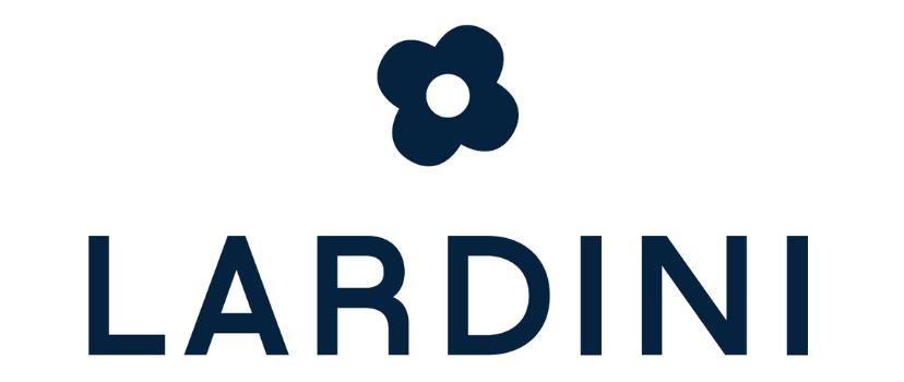 Logo Azienda Lardini per partnership con Fondazione Lega del FIlo d'Oro