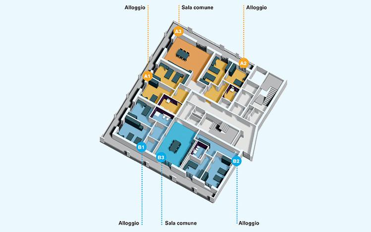 Centro Nazionale-edificio-3-piano-secondo