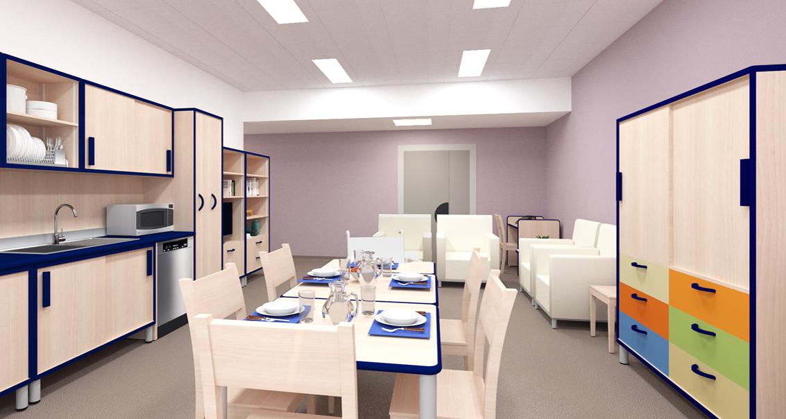 Cucina Didattica al Nuovo Centro Nazionale ad Osimo